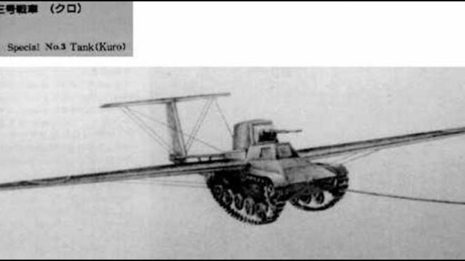 ide gila perang dunia (tank terbang)