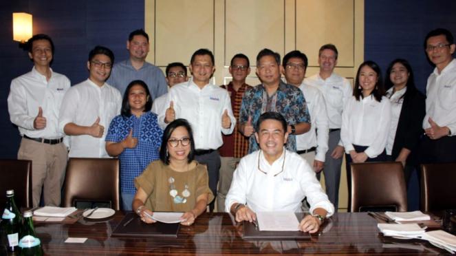 Kerja sama ExxonMobil Indonesia dan Grab