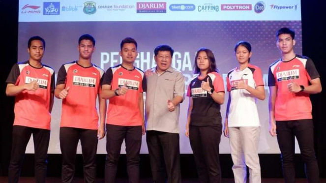 Atlet Muda Berprestasi PB Djarum Diguyur Total Bonus Rp104,4 juta