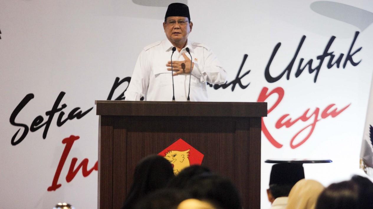 Prabowo Subianto, HUT Partai Gerindra ke-12