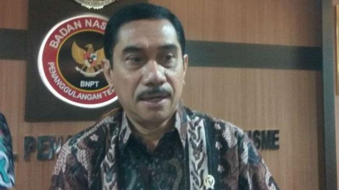 Kepala BNPT Komjen Pol Suhardi Alius
