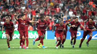 Skuat Liverpool juarai Piala Super UEFA 2019