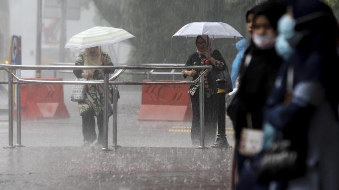 BMKG Prediksi Puncak Musim Hujan Bulan Februari dan Maret