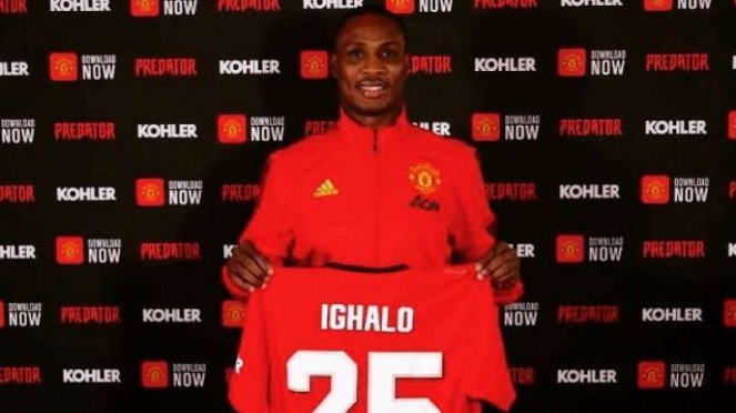 Penyerang Manchester United, Odion Ighalo