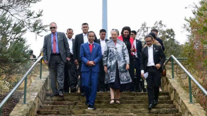 Presiden Jokowi di Australia