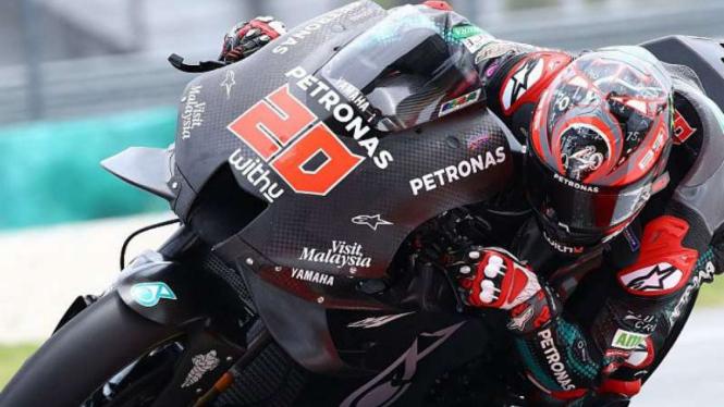 Pembalap Petronas Yamaha SRT, Fabio Quartararo.