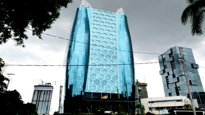 Gedung Kementerian BUMN. Foto ilustrasi.