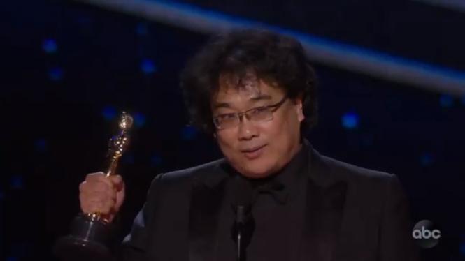 Sutradara Film Parasite, Bong Joon Ho.