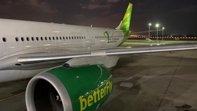 Pesawat Citilink armada A330-900 NEO.