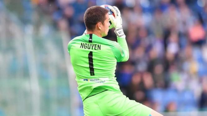 Kiper tim Slovan Liberec, Filip Nguyen.