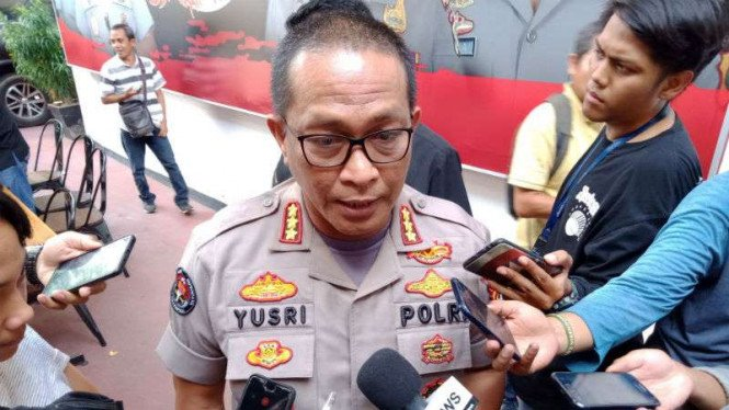 Kepala Bidang Hubungan Masyarakat Polda Metro Jaya, Kombes Polisi Yusri Yunus.