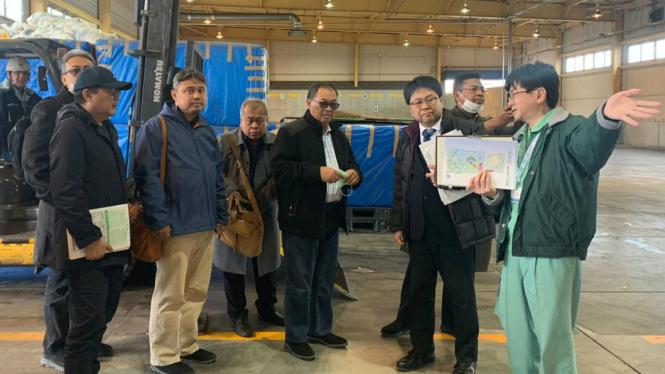 Wali Kota Bandung Oded M Danial dan rombongan dalam lawatan ke Jepang