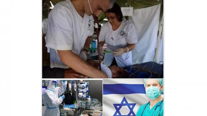 Tim dokter asal Israel tangani pasien virus corona.