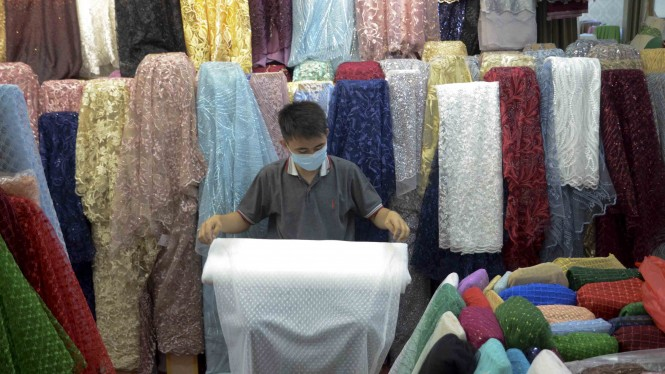 Virus Corona Tidak Berdampak pada Penjualan Tekstil
