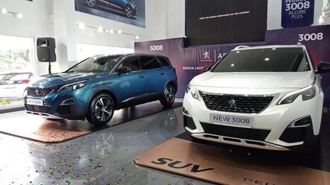 Dua produk baru Peugeot, yakni 3008 dan 5008 Allure Plus