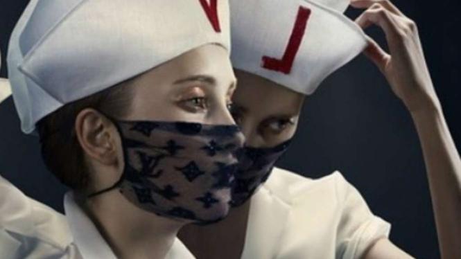 Masker fashion lansiran Louis Vuitton