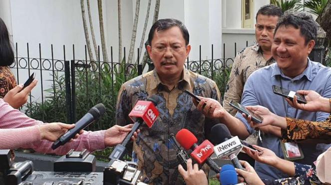 Menteri Kesehatan Terawan Agus Putranto di Istana Bogor, Jawa Barat, Selasa, 12 Februari 2020.