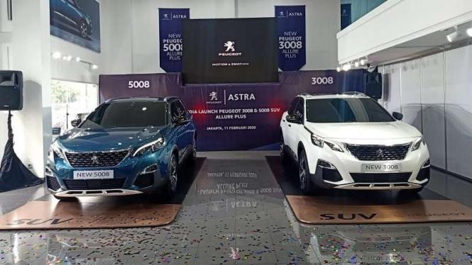 SUV Peugeot 3008 dan 5008 Allure Plus