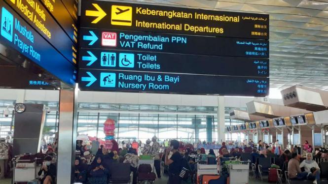 Terminal 3 Bandara Soetta, Tangerang, Banten.