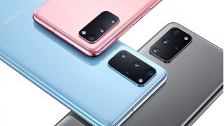 Trio Samsung Galaxy S20.