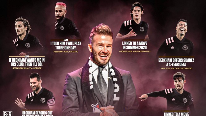 Deretan bintang sepakbola dunia diproyeksi bakal gabung dengan Inter Miami