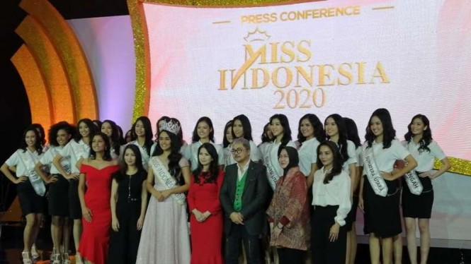 Press Confrence Miss Indonesia 2020