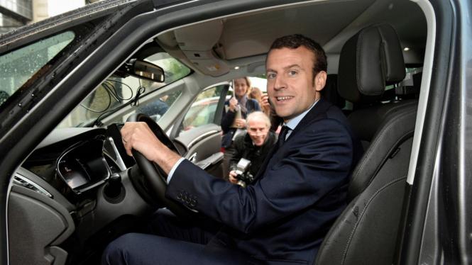 Presiden Prancis, Emmanuel Macron