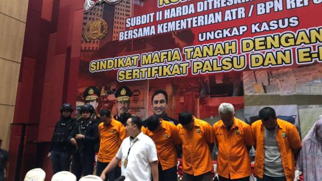 Polisi bongkar sindikat mafia tanah dan jual beli rumah mewah di Jakarta