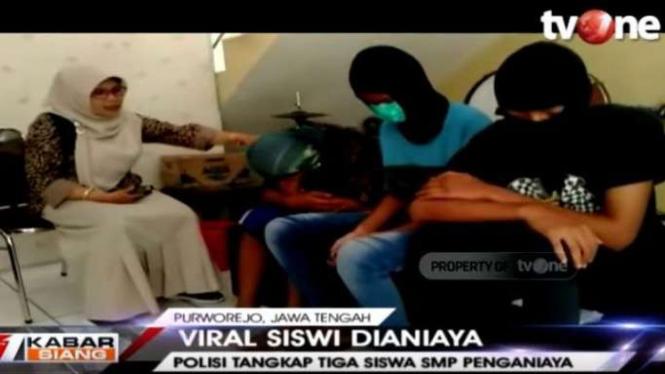 Polisi amankan 3 siswa SMP Muhammadiyah Butuh di Purworejo yang menganiaya adik kelas