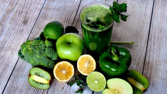 Jus Buah dan Sayur yang Sehat dan Nikmat