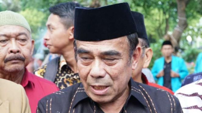 Menteri Agama Fachrul Razi di Surabaya.