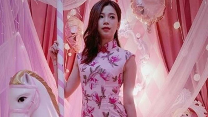 Intip Gaya Si Seksi Goh Rayakan Valentine Day, Bikin Jatuh Cinta