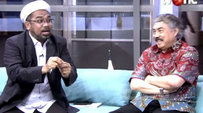 Prof Gayus Lumbuun terlibat perdebatan dengan Ali Mochtar Ngabalin.