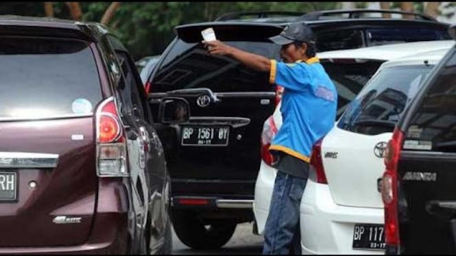 tukang parkir