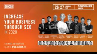 "SEO Conference ""Bring Your SEO To The Next Level"" 26-27 Februari 2020, di Kota"