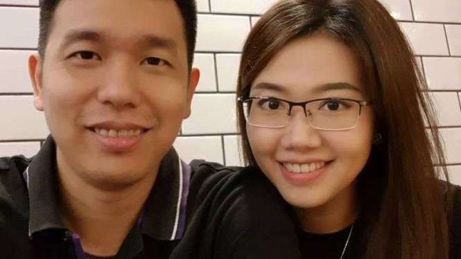 Hendra Setiawan dan Sandra Arief.