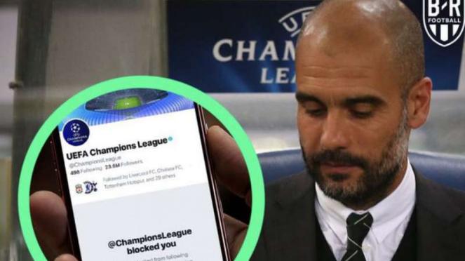 Meme kocak hukuman Manchester City.