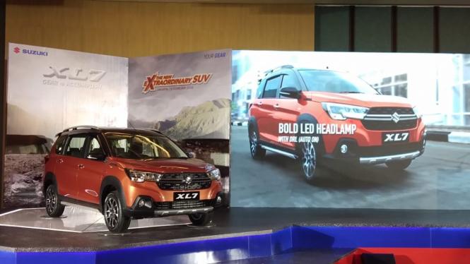 Peluncuran Suzuki XL7 di Jakarta