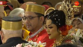 Pernikahan Danny Rukmana dan Raiyah Chitra Caesaria.