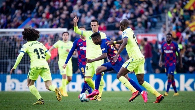 barcelona vs getafe - photo #40