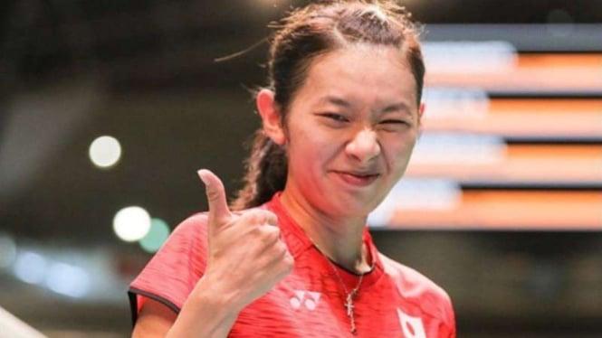 Tunggal putri Jepang, Sayaka Takahashi.