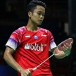 Tunggal putra Indonesia, Anthony Sinisuka Ginting di BATC 2020.