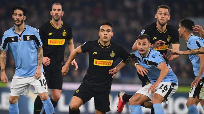 Pertandingan Lazio vs Inter Milan