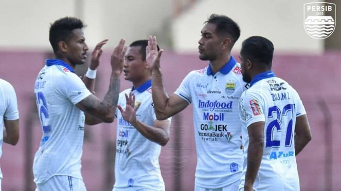 Persib Bandung menang di laga ujicoba kontra PSS Sleman
