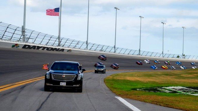Mobil Presiden AS masuk ke Sirkuit Daytona