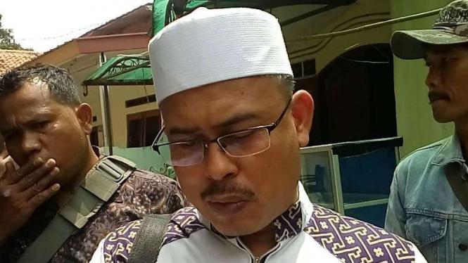 Ketua DPP FPI Slamet Ma'arif