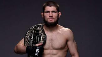 Juara kelas ringan Ultimate Fighting Championship (UFC), Khabib Nurmagomedov