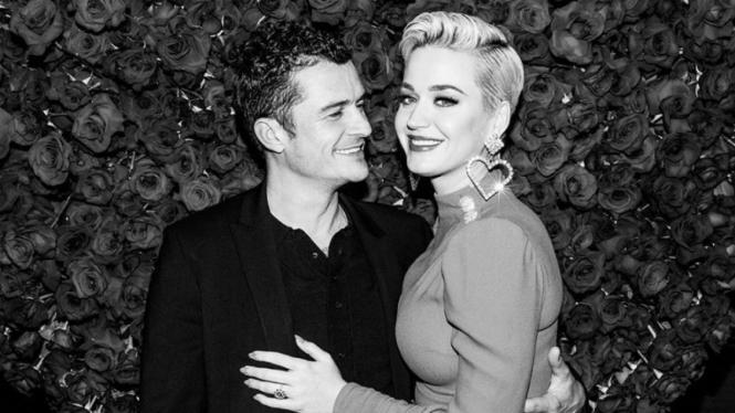 Orlando Bloom dan Katy Perry.