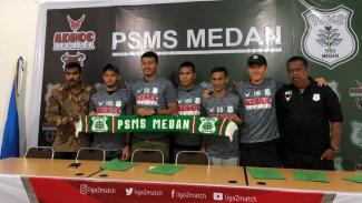 PSMS Medan perkenalkan lima pemain baru