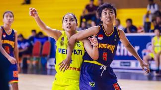 Merpati Bali vs Flying Wheel di Srikandi Cup 2020 seri 2 Jakarta